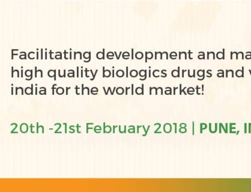 Biologics Manufacturing India 2018